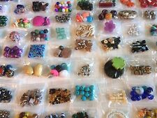 40 Bags Mixed Beads, Findings & Jewelry Making Supplies