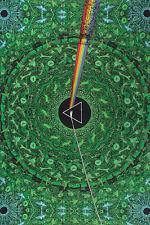 PINK FLOYD-DARK SIDE OF THE MOON-GREEN LYRICS IN TAPESTRY-60X90 100% COTTON