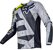 FOX racing MENS motocross jersey 180 NIRV size 2XL 17257-086-2X gry/flo