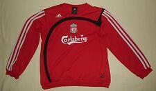 Liverpool FC / 2007-2008 Training - ADIDAS - JUNIOR Track Top / Jumper. 12y, 152