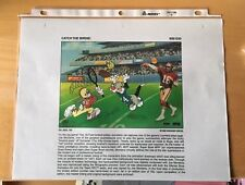 W.B. Catch The Birdie Laminated Cel Binder Page ''Never Sold To The Public''