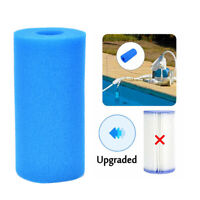 20x10cm Swimming Pool Filter Foam Reusable Washable Sponge Cartridge FoWR