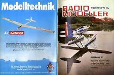 RADIO MODELLER MAGAZINE 1979 NOV CHIPPERTOO PLAN FEATURE, OS MAX 10 FST TEST