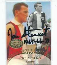 HALL OF FAME TEAM OF THE CENTURY IAN STEWART HAND SIGNED / BEST QUALITY AVAIL