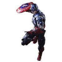 In stock Square Enix VARIANT Play Arts Kai Marvel Universe Captain America F/S