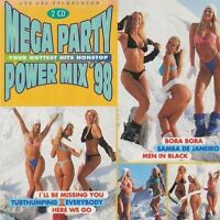 Mega Party Power Mix '98 (BMG/Ariola) Astra, Bellini, Scooter, Tic Tac .. [2 CD]