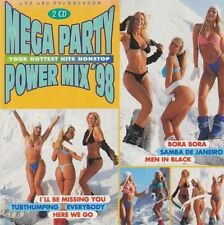 Mega Party Power Mix '98 (BMG/Ariola) Astra, Bellini, Scooter, Tic Tac .. [2 CD]
