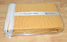 530 Thread Count 100% Premium Combed Cotton Solid Pillowcase Set-Superior-Gold