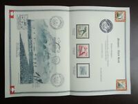 Germany Nazi 1935 Stamps Used Winter Olympic WWII 3rd Reich German Games held in