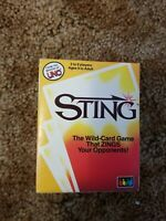 Sting Card Game 1984 VTG Rummy Gone Wild UNO Makers Strategy Family Fun Gift NEW
