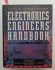 Electronics, Engineers Handbook: Donald G. Fink 4th ed Electrical Engineering