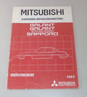 Workshop Manual Mitsubishi Galant/Station Wagon/Sapporo Supplement Body