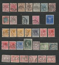 Selection of 32 Netherlands Perfins, very clean lot.