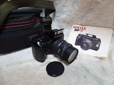 Camera Pentax Sf7 35mm Film Camera Auto Focus Slr Body Sigma 28 80mm Af Lens