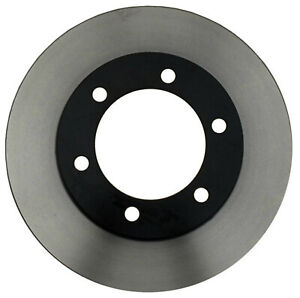 Disc Brake Rotor-Black Hat Front ACDelco 18A735