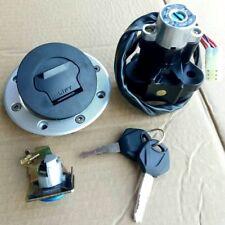 Ignition Switch Gas Cap Cover Seat Lock Keys for Suzuki GSXR 600 750 1000 00-03