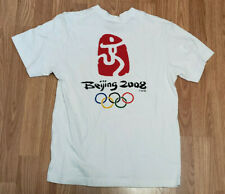 SUMMER OLYMPICS T-shirt Medium - Beijing China 2008 - Official Olympic Product