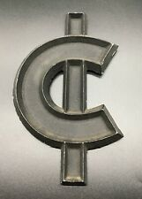 "Vintage Cents Sign Adler Silhouette Letter Movie Theater Marquee 8"" Aluminum USA"