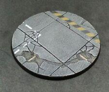 100mm resin base Concrete urban industrial Warhammer 40,000 40k