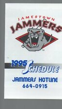 1995 JAMESTOWN JAMMERS POCKET SCHEDULE