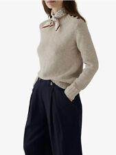 BNWT Toast Cotton Linen Slub Jumper Sweater Size Extra Small XS RRP£135
