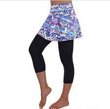 Anivivo Skirted Legging for Women, Women Skirted Capri Leggings Tennis Pants wit