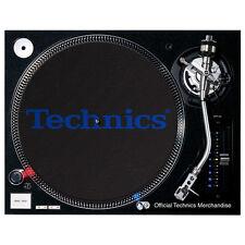 Slipmats Technics DMC - Electric Bleu Logo (1 pièce / 1 pièce) MTB1