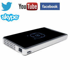 Portable Mini Projector DLP 4K HD 1080p Video Cinema Wifi Android Home Theater