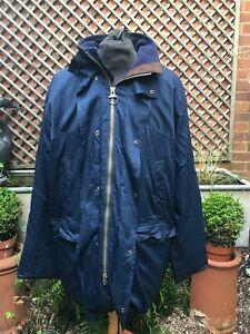 Barbour T36 CONVERTIBLE ENDURANCE Cordura / Ispira coat men's size XL +