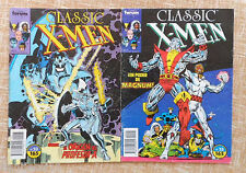 Comics, Classic X-Men, nº 23 y 25, Vol. I, Marvel, Forum, Chris Claremont, 1990