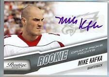 MIKE KAFKA Auto 2010 Prestige RC Autograph Rookie 408/599 Northwestern