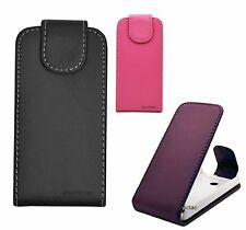 Flip Leather Case Cover Pouch for Various Nokia ASHA Phones