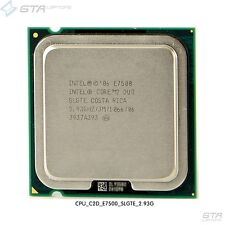 Intel Core 2 Duo E7500 2.93GHz SLGTE  LGA775 Dual-Core CPU