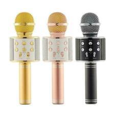 Sans fil Microphone Bluetooth Haut-parleur Portable Karaoké KTV Micro USB