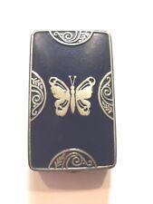 Lucretia Vanderbilt Powder Compact Art Deco Butterfly