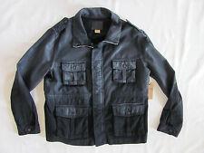 True Religion Isabelle Parka Jacket -Rigid Twill - Black- Size Large - $298