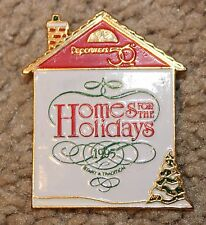 "Dept 56, ""Home For The Holidays"" 1995 Promo Pin"