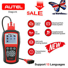Autel Diaglink OBD2 Car Diagnostic Tool Code Reader ABS SRS EPB Oil Reset Tester