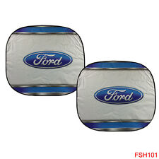 New 2 Panel Ford Elite Series Car Truck Windshield Front Sun Shade Sunshade