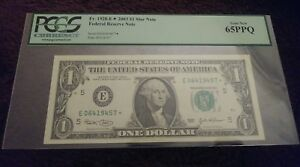 2003 $1 FRN Star Note PCGS 65PPQ FR# 1928-E* ULTRA LOW 160k RUN Richmond