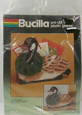 Bucilla Kit #61046 Pre-Cut Plastic Canada Goose Mail Holder/Doorstop Christmas