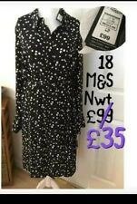 SIZE 18 M&S DRESS NEW WITH TAGS £99 MARKS AND SPENCER reduced buy now