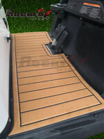 RockFox Outlet Luxury Golf Cart Floor Mat, The Mat Fit on Club Car Precedent.