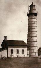 Cana Island Lighthouse Baileys Harbor Wisconsin, Today US Coast Guard - Postcard