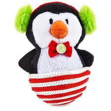 "Time for Joy SISAL PENGUIN Catnip Cat Toy Christmas Holiday 4.5"""