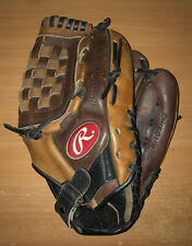 "RAWLINGS The Bull RB25 Leather 12.5"" RHT Baseball Glove"