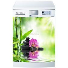 Magnete lavastoviglie Bambù e fiore 60x60cm ref 5511 5511