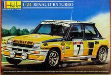 1980 Renault R5 Turbo 1:24 Model Kit Bausatz Heller 80717
