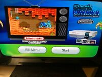 Modded Nintendo Wii--16 GB or 64 GB Bundle - Loaded with Retro