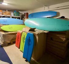 9'2� Surfboard Ixpe Soft Top Foam Core, Leash, 3 Fins, Color: Royal Blue